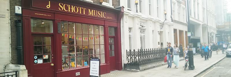 Schott Music Shop